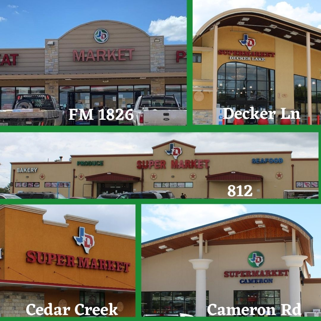 JD's Markets and Supermarkets locations